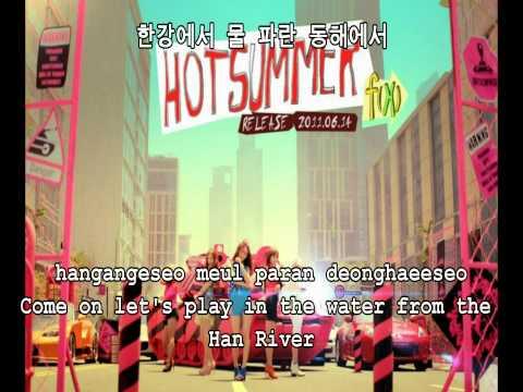 [HD][ENG][MP3] F(x) - Hot Summer [Romanization][Hangul]