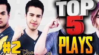 Spacestation Gaming Angry 1v4 Cloud9 + Tempo Storm - Top 5 Plays of the Week #2 PUBG MOBILE