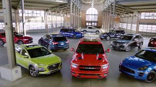 homepage tile video photo for Car and Driver's 2019 10Best Trucks and SUVs