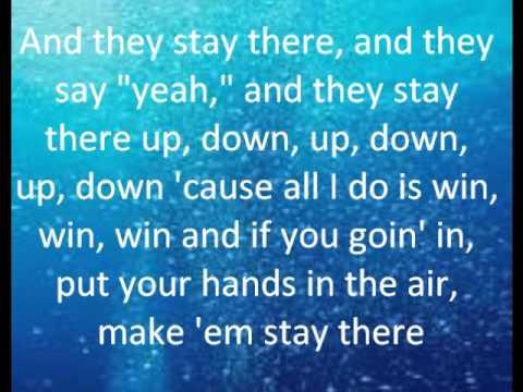 DJ Khaled- All I do is Win Lyrics (Clean) - YouTube