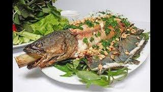 Món ngon mỗi ngày-khô xoài cá lóc+cá lóc nướng +ba chỉ rim mặn +chè khúc bạch +dextox chanh dứa