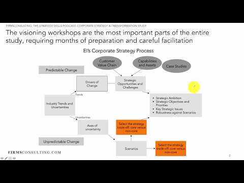 Structure of the Visioning Workshop / Strategy Workshop - Leadership Training