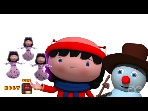 Hark The Herald | Christian Songs | Bible Songs For Kids and Children | Holy Tales Froztee & Friends