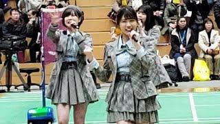 バドミントンS/Jリーグ 試合前ミニライブ 2019年2月11日(月)11:10~11...