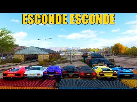 ESCONDE ESCONDE DE LAMBORGHINI AVENTADOR - FORZA HORIZON 4 - GAMEPLAY thumbnail