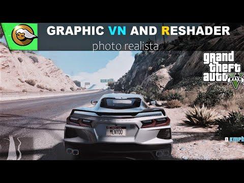 GTA5   COMBINEI GRAPHIC VN COM RESHADER  FAZENDO UM PHOTO REALISM