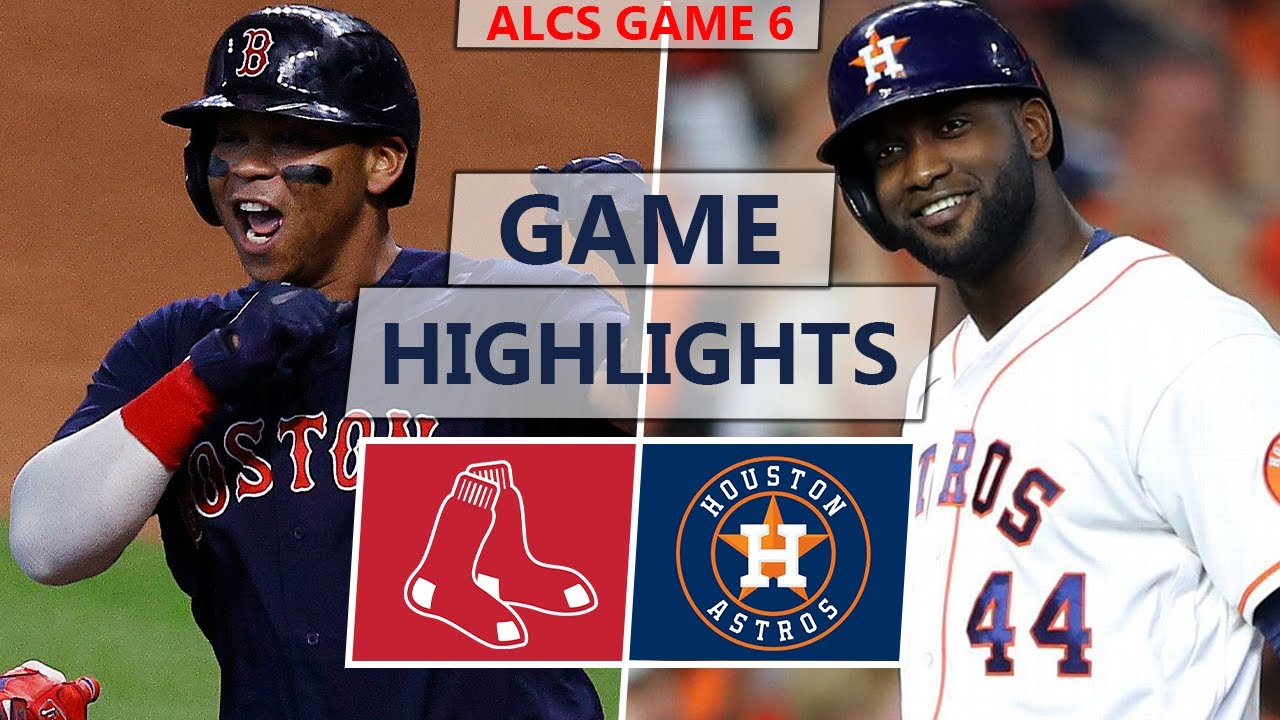 Download Boston Red Sox vs. Houston Astros Highlights | ALCS Game 6 (2021)