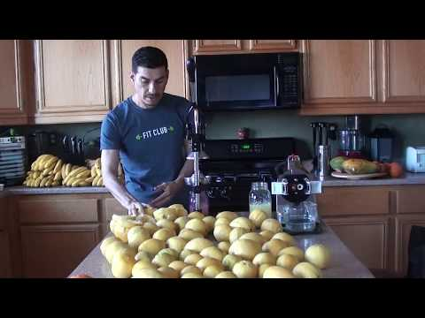 Powerful Detoxifying Lemon Juice