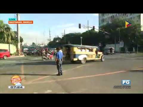 TRAFFIC UPDATE: Nagtahan, Manila
