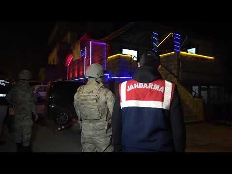 Denizli'de 30 Adrese Fuhuş Baskını 71 Gözaltı