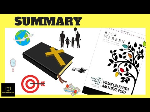 The Purpose Driven Life by Rick Warren | Animated Book Review