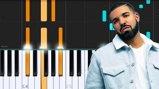 Drake - Nice For What Piano Tutorial - Chords - How To Play - Cover