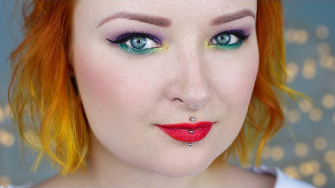 modern pin up make up tutorial � red lipstick monster