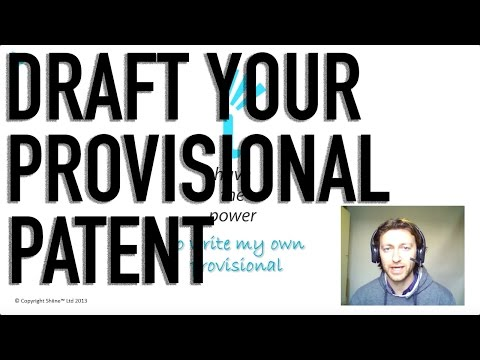 How To Draft A Provisional Patent Application