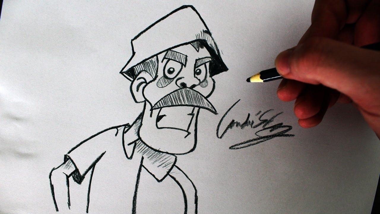 Como Desenhar Coisa Amorosa: (Cómo Dibujar Don Ramon