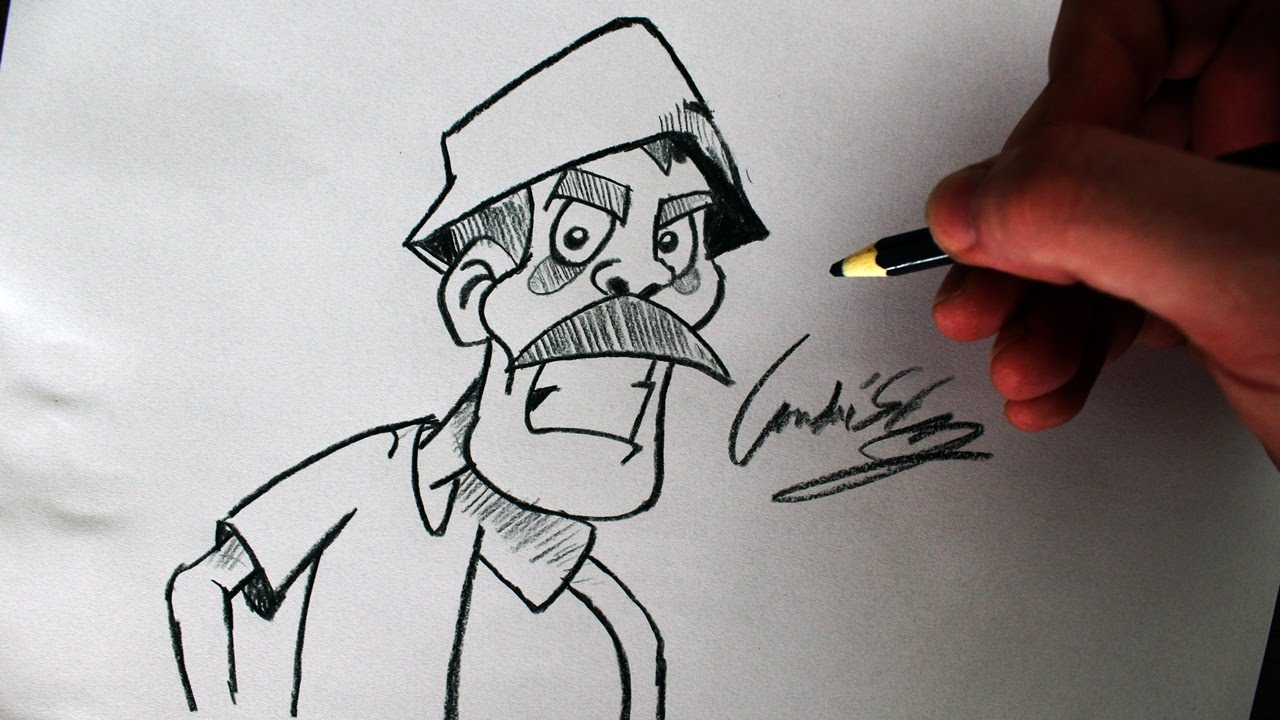 Desenhos Tumblr De Mão Estalando Como Fazer: (Cómo Dibujar Don Ramon