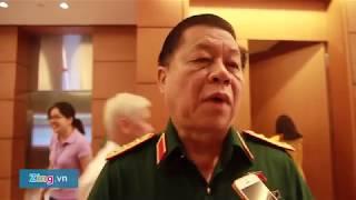 Tướng Nguyễn Trọng Nghĩa: Kiên quyết xử lý tàu nước ngoài xâm phạm biển Việt Nam