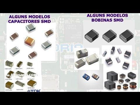 Como Fazer Testes Básicos Capacitor e Bobina SMD e Diferenças Físicas entre eles.