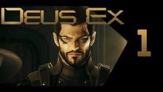 Deus Ex: Human Revolution #1 Начало (Прохождение)