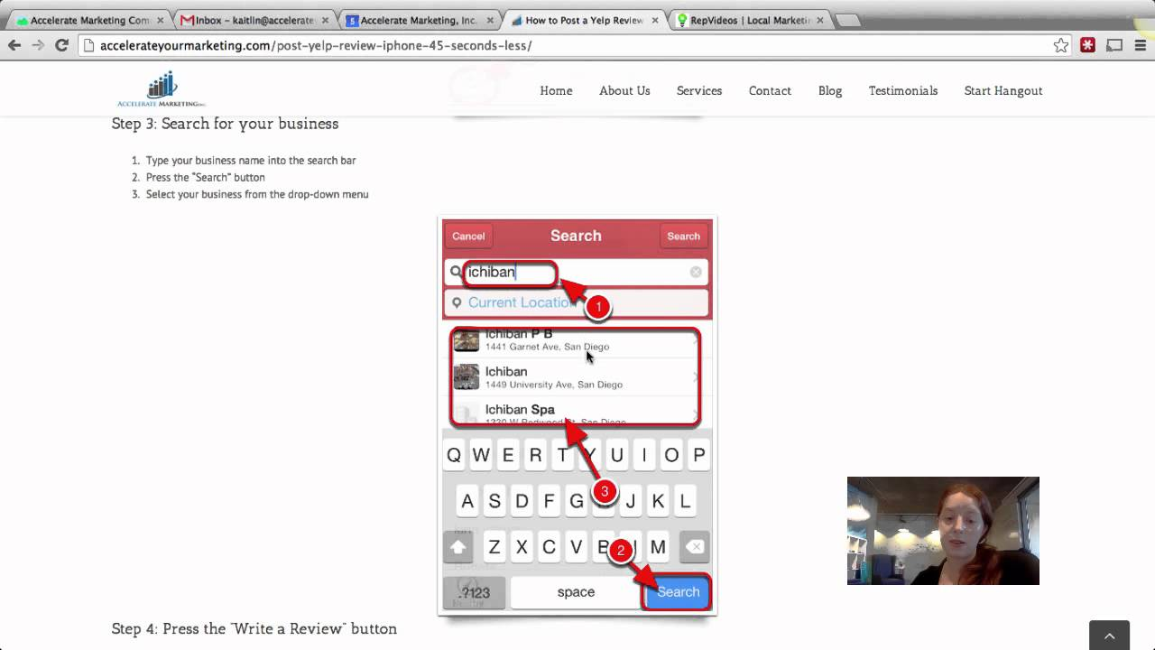 How to Post a Yelp Review with Your iPhone in 45 Seconds or