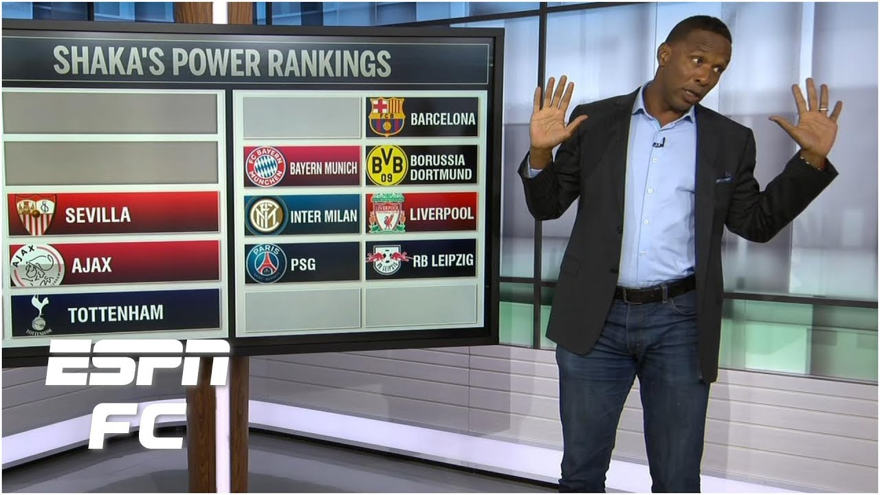 Champions League Power Rankings: PSG claim top spot from ...