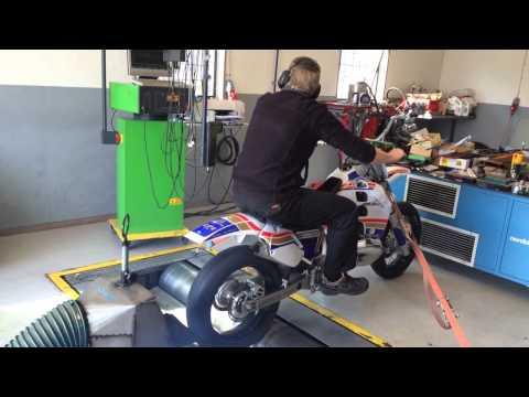 Honda CR500/550 Liger build and dyno movie