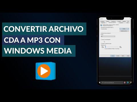 Cómo Convertir un Archivo CDA a MP3 con Windows Media - Fácil y Rápido