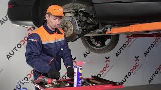 Remplacer Butée d'amortisseur arrière et avant AUDI Q7 (4L) - instructions vidéo