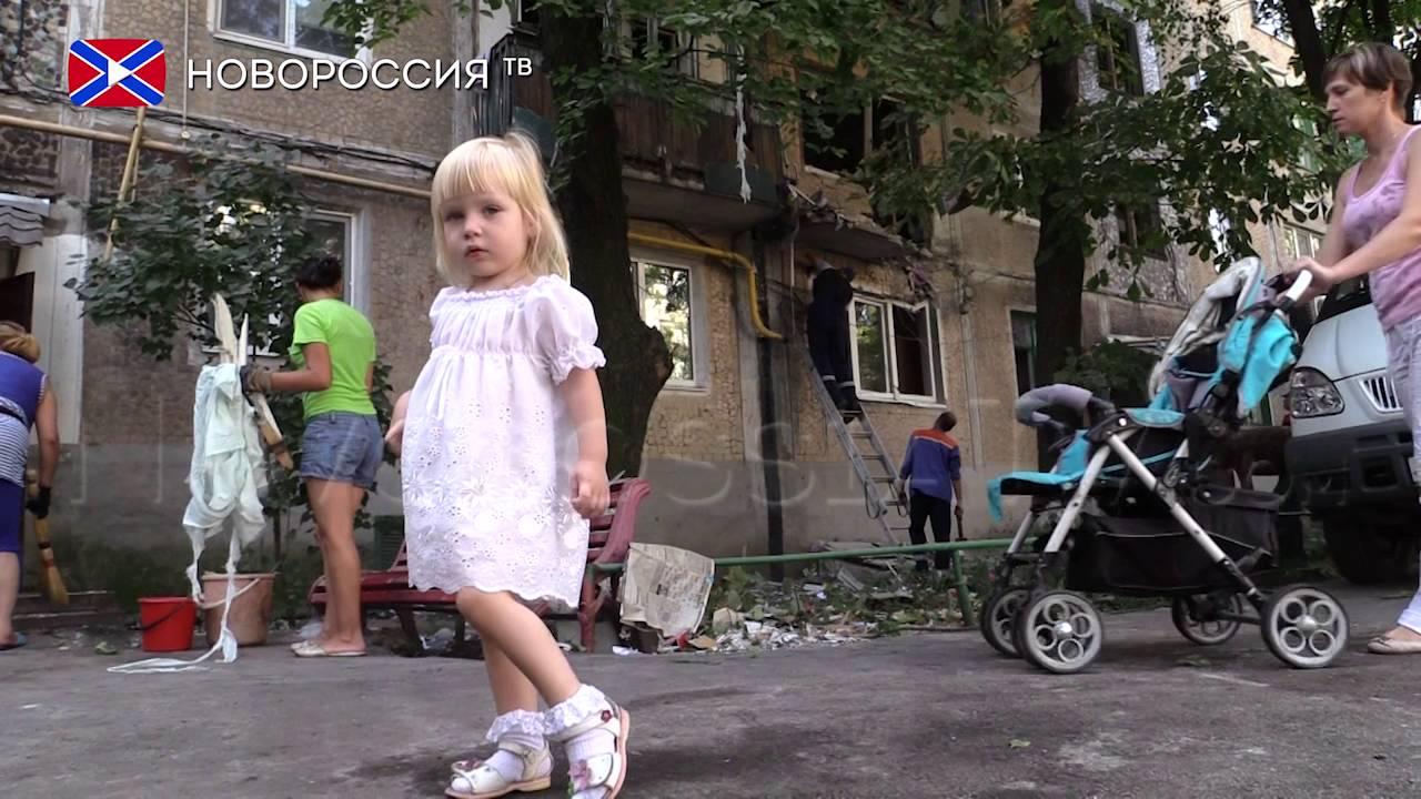 Число убитых и раненых среди мирных жителей Донбасса стало