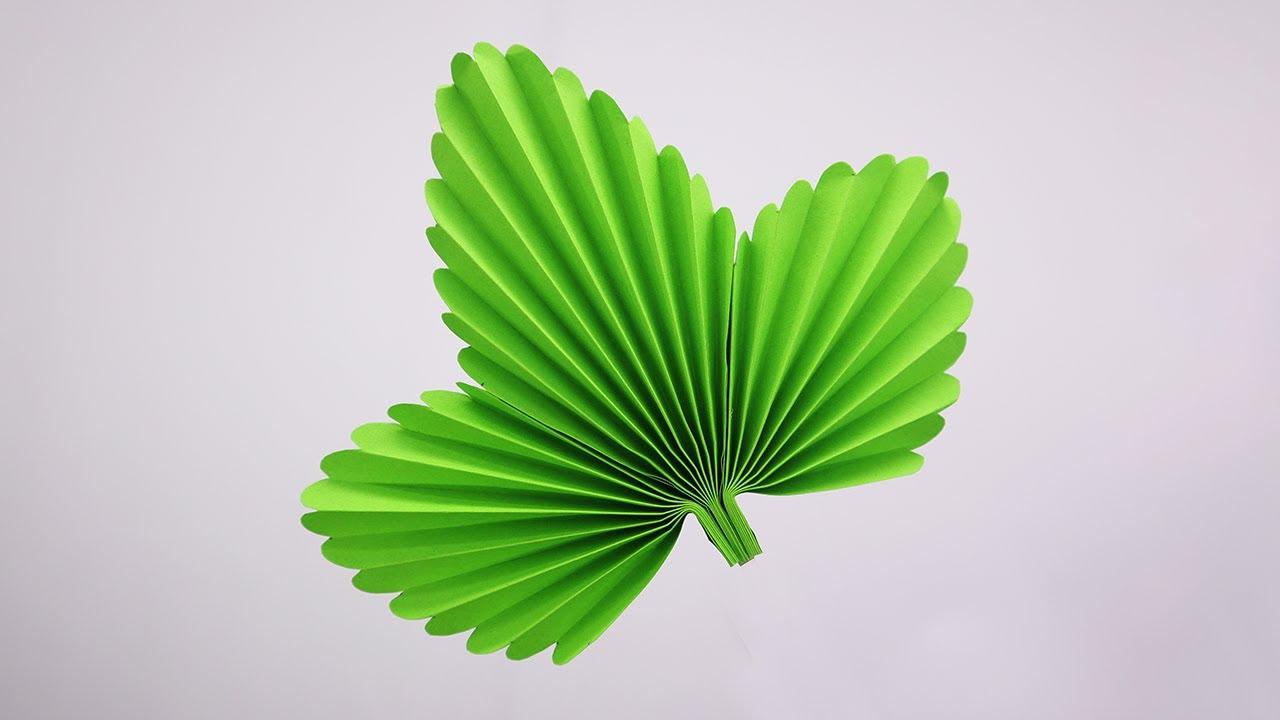 Paper Leaves   Paper Leaf | How to Make DIY Leaf Easy