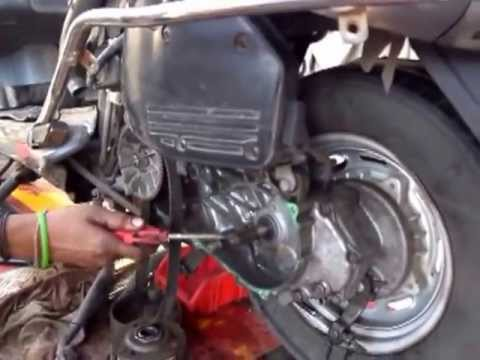 Honda Activa - How to open the Clutch - YouTube