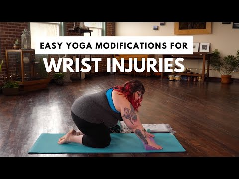 Easy Yoga Modifications for Wrist Injuries