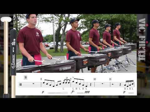 2014 Cadets Tenors - LEARN THE MUSIC to Appalachian Spring!
