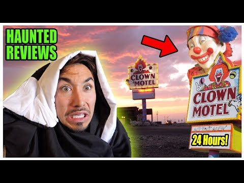 Staying At The MOST Haunted *CLOWN* Motel In America