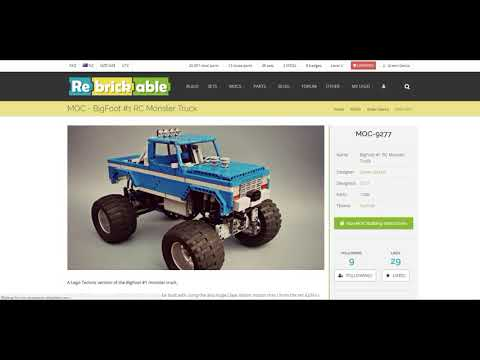 Instructions for the BIGFOOT #1 RC Monster Truck and Monster Truck Chassis
