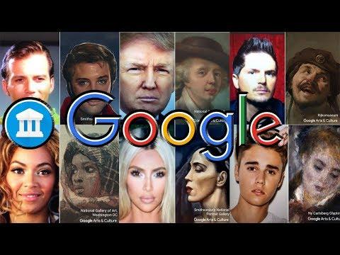 Google Arts and Culture App - Celebrity Edition