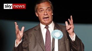 Nigel Farage hits back over funding investigation