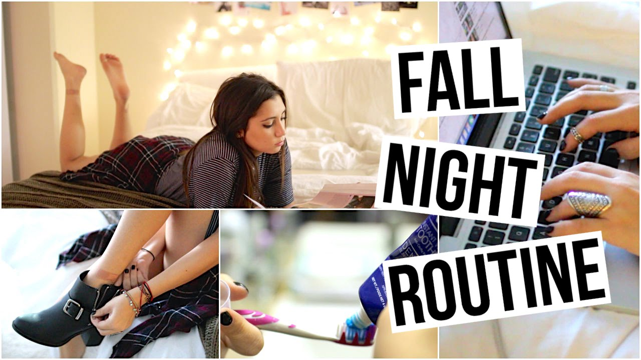 Night Routine | Fall / Winter Edition! - YouTube