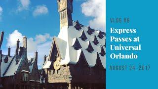 Florida Vacation 2017 | Day 6: EXPRESS PASSES at Universal Orlando | August 24, 2017