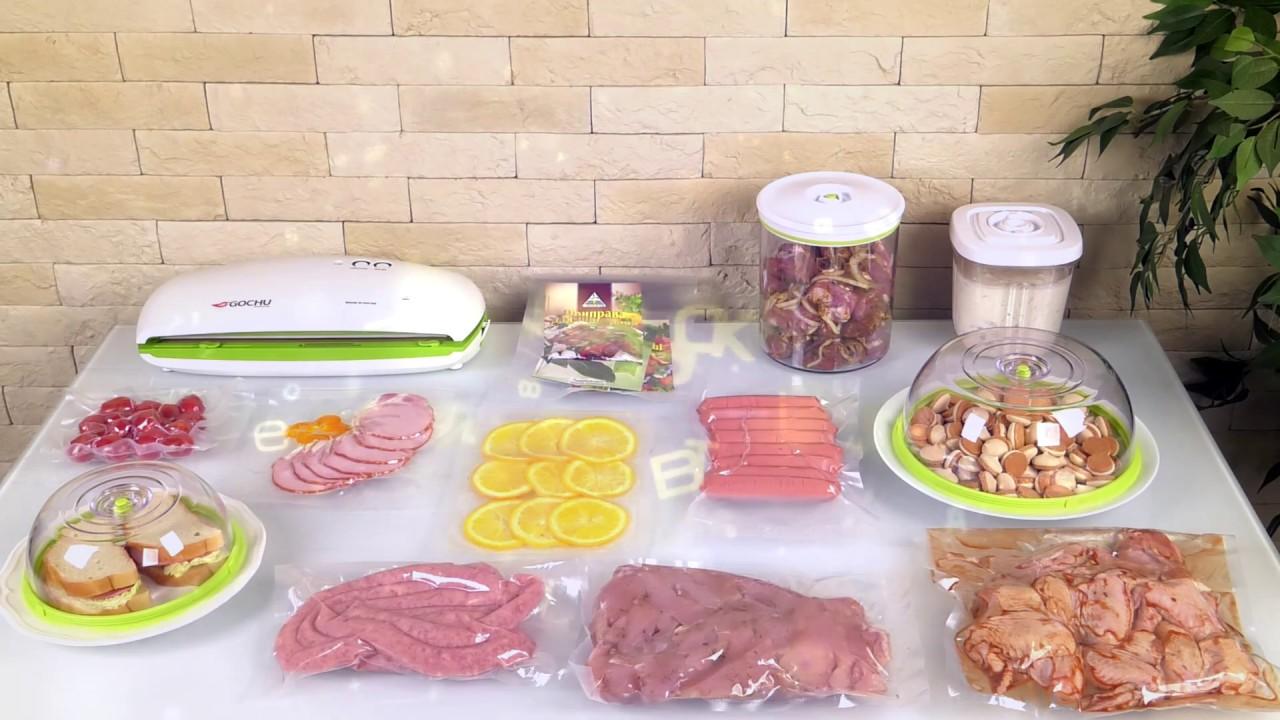 Корейский вакууматор Gochu VAC-470: недорогое устройство для сохранения продуктов и готовки су-вид