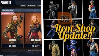 ITEM SHOP UPDATE - COUNTDOWN - 246 wins - New skins? - Fortnite Battle royale - ps4 pro