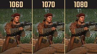 Battlefield V GTX 1060 vs. GTX 1070 vs. GTX 1080