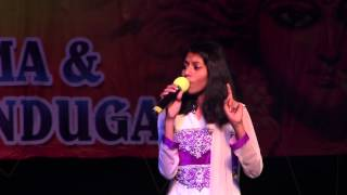 Song 1 on Amma by MadhuPriya at DATA Dasara Bathukamma on Sep 20th 2014