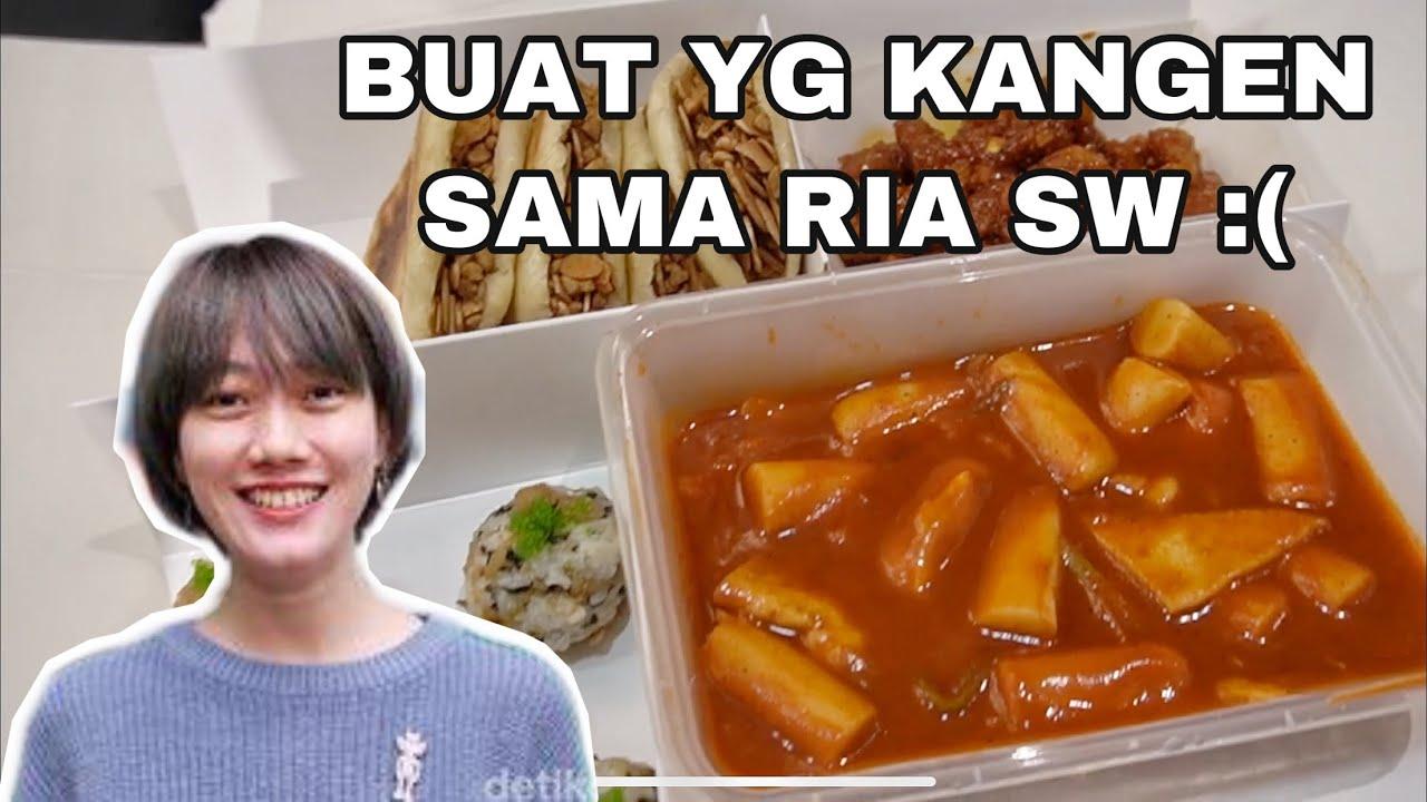 BIKIN KANGEN SAMA RIA SW!! STREET FOOD PLATTER REVIEW...