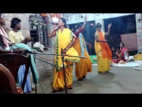 Bengali culctuaral program to showing respect of god    Nam sankirtan