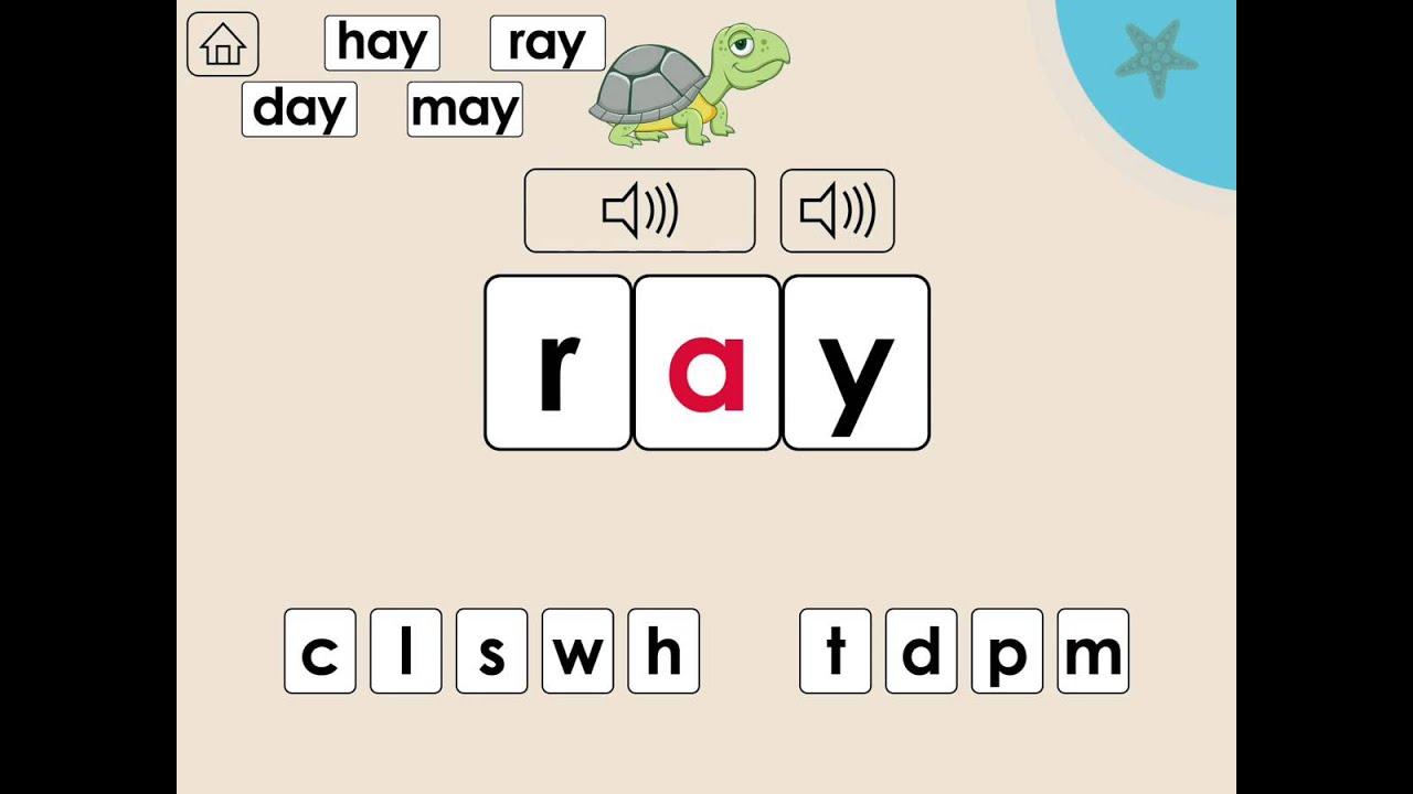 Worksheets Word Family Ay Waytoohuman Free Worksheets