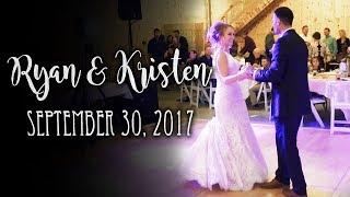 Ryan & Kristen's Wedding - September 30, 2017