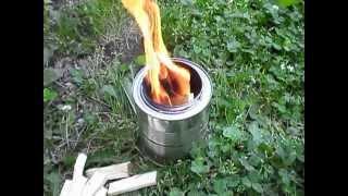Diy Wood Gas Stove (backpacking)