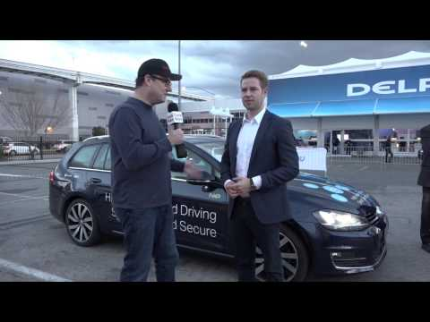CES 2017: Microsoft Connected Car Demo