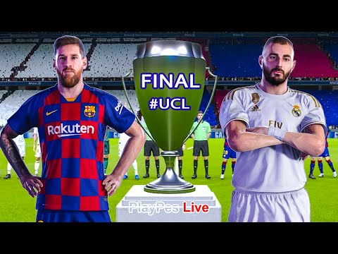 PES 2020 - Barcelona Vs Real Madrid - Final UEFA Champions League - UCL - Gameplay PC
